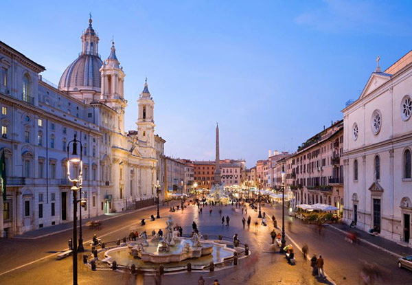 Beautiful Global Architecture Symbols in Rome IT Rom Piazza Navona