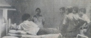 Vijaya Kumarathunga ( then an SLFP leader) in arrest for Naxalilte plot